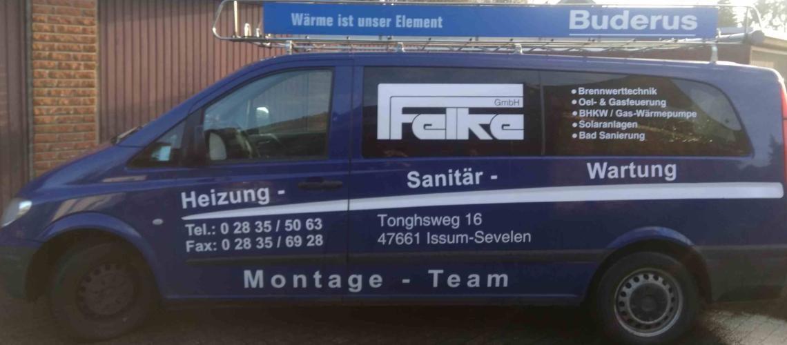 Felke GmbH Heizung Lüftung Klima Sanitär in Issum